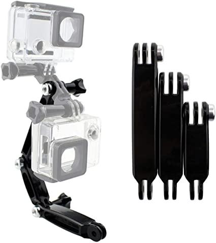 2 screw for Gopro Camera 1 2 3 Camera Arm Assembly Extension Mounting Adapter