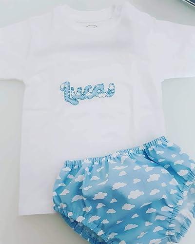 Cubrepañal Bebe nubes azul bebe con posibilidad de adquirir ...