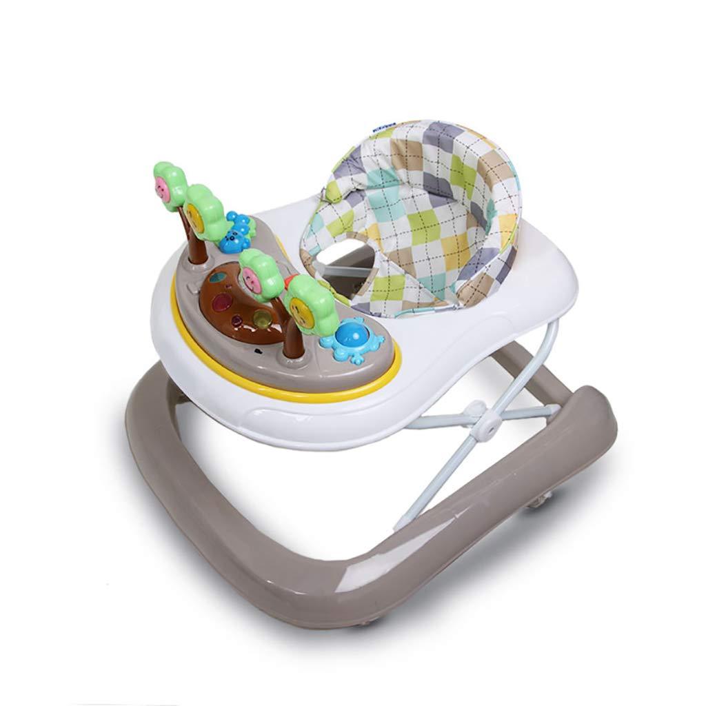 LFY Andadores para bebés: antivuelco con música, fácil de ...