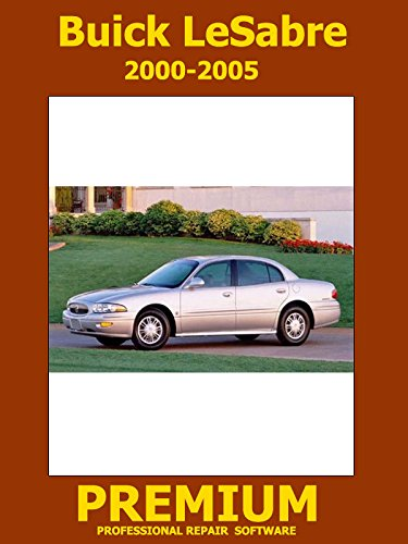 (Buick LeSabre Repair Software (DVD) 2000 2001 2002)