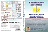 Embrilliance Essentials, Embroidery Software for