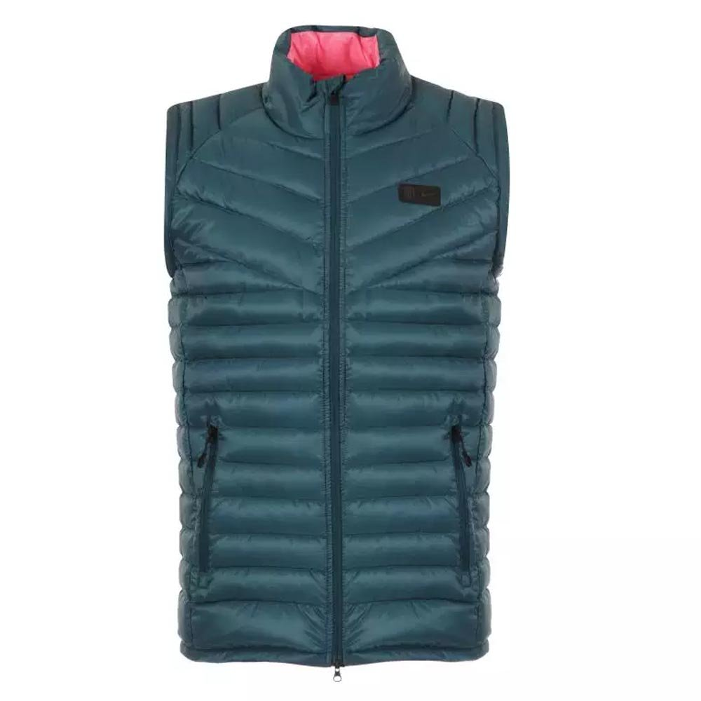 Nike 2017-2018 Atletico Madrid Authentic Down Vest (Space Blau)
