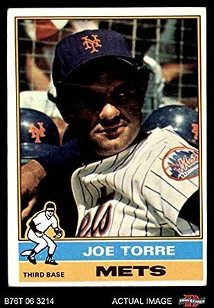 Amazoncom 1976 Topps 585 Joe Torre New York Mets Baseball Card