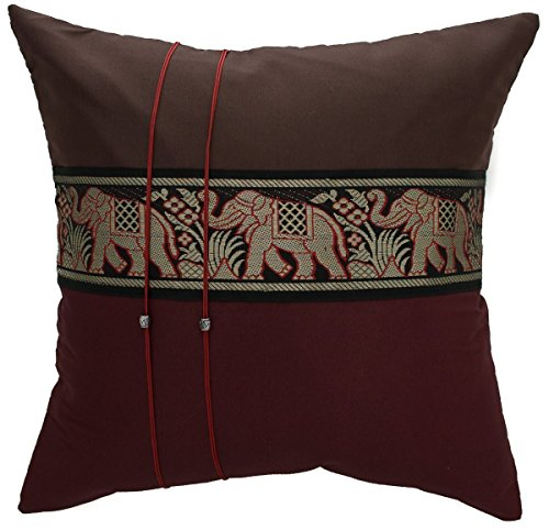 striped-elephant-throw-pillow-cover-decorative-sofa-couch-cushion-cover-zippered-16x16-inch-brown-re
