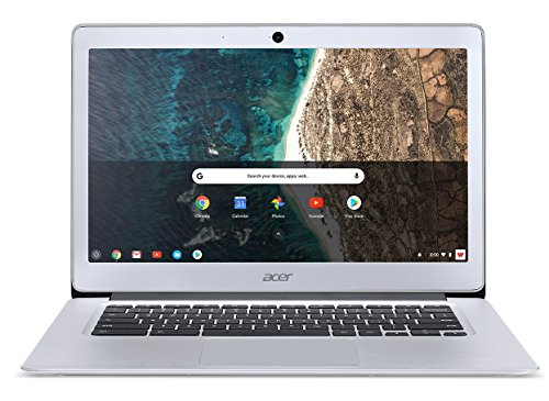 Read About Acer Chromebook 14, Aluminum, 14-inch Full HD, Intel Celeron N3160, 4GB LPDDR3, 32GB, Chr...