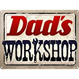 Dad's Workshop Tin Sign 40.7x30.5cm