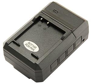 STK's Panasonic DMW-BCF10PP Battery Charger - for Panasonic DMW-BCF19PP, DMW-BCF10 Batteries, and Lumix DMC-TS4, DM-TS3, DMC-FH20, DMC-TS2, DMC-FS15, DMC-TS1, DMC-FT3, DMC-FH22, DMC-FS7, DMC-FT4, DMC-FH3, DMC-FP8, DMC-FT1, DMC-FX700, DMC-F2, DMC-F3, DMC-F