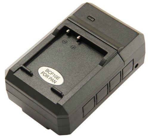 STK's Panasonic DMW-BCF10PP Battery Charger - for Panasonic DMW-BCF19PP, DMW-BCF10 Batteries, and Lumix DMC-TS4, DM-TS3, DMC-FH20, DMC-TS2, DMC-FS15, DMC-TS1, DMC-FT3, DMC-FH22, DMC-FS7, DMC-FT4, DMC-FH3, DMC-FP8, DMC-FT1, DMC-FX700, DMC-F2, DMC-F3, DMC-FH1, DMC-FS25, DMC-FS4, DMC-FS42, DMC-FT2, DMC-FX75, DE-A59B