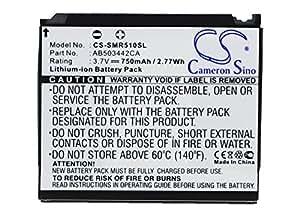 Battery for Samsung SCH-R610, 3.7V, 750mAh, Li-ion