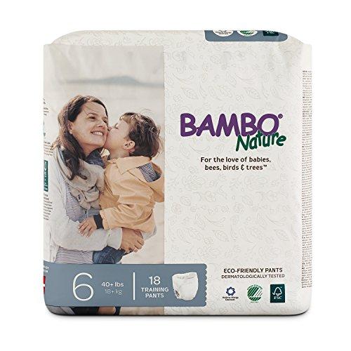 Bambo Nature Premium Training Pants, Size 6, 18 Count