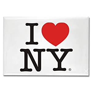 I Love New York Jumbo Magnet, New York Magnets, NYC Souvenirs, Fridge Magnets, NY Magnet