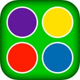 Learning colors - easy toddler game for kids education with animals, plants and weather events