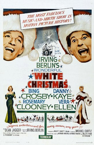 Wonderful White Christmas Poster