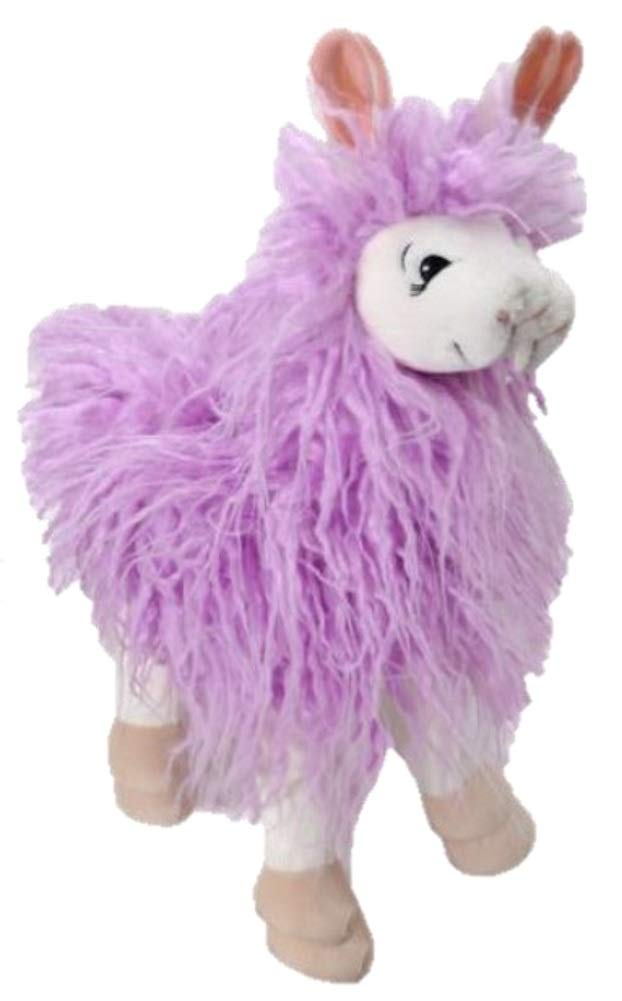 Purple The Petting Zoo 17  Woolly Llama (Purple)