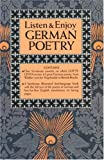 Listen and Enjoy German Poetry, Listen and Enjoy Staff and Dover Staff, 0486999297