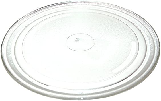 Bandeja giratoria para microondas, color blanco, de la marca ...