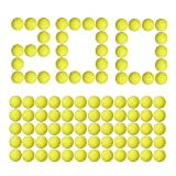 Little Valentine [200 Rounds] Nerf Rival Compatible Ammo by Bulk Yellow Foam Bullet Ball Replacement Refill Pack for Nerf Rival Blasters (HIR, High-Impact Rounds - Yellow)