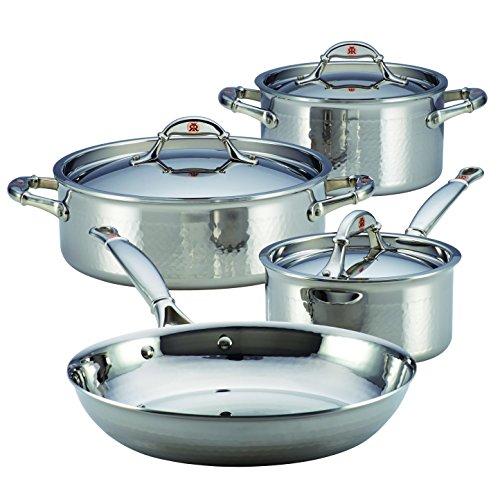 Ruffoni Symphonia Prima 7-Piece Cookware Set, Stainless Steel by Ruffoni