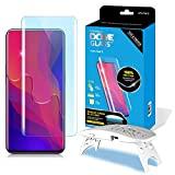 Dome Glass Find X Screen Protector Tempered Glass, Full Cover Screen Shield [Liquid Dispersion Tech] Easy Install Kit by Whitestone for Find X (2018) - 1 Pack