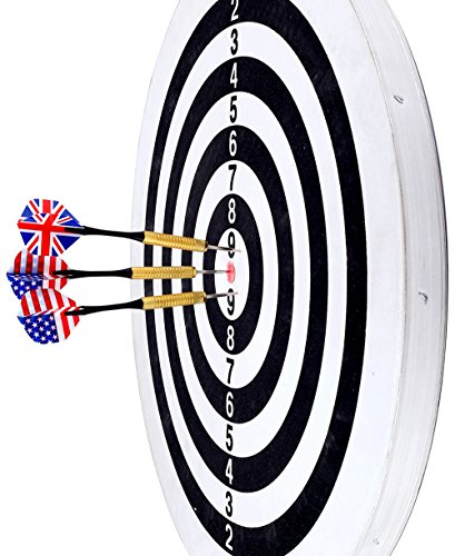 Crystallove Professional Dartboard With 6pcs Steel Tip