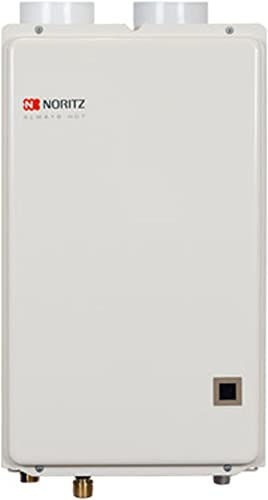 Noritz NRC66DVNG Indoor Condensing Direct Tankless Hot Water Heater, 6.6 GPM – Natural Gas