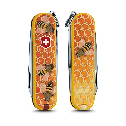 Victorinox Swiss Army Classic Sd Pocket Knife, Honey Bee