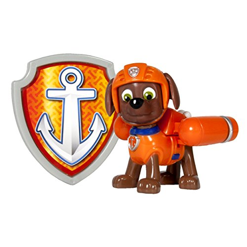 [Nickelodeon, Paw Patrol - Action Pack Pup & Badge - Zuma] (Paw Patrol Costumes Skye)
