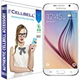 bagtag Cellbell Tempered Glass Screen Protector for Samsung Galaxy S6(2.5D Curved Edges)(Clear) Complimentary Prep cloth-Bronze Edition