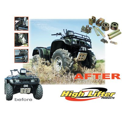 High Lifter Lift Kit for Kawasaki BRUTE FORCE 750 4x4i (High Lifter Atv Parts)