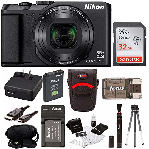 Nikon Coolpix A900 Digital Camera  w/ 32GB Card & Accessory