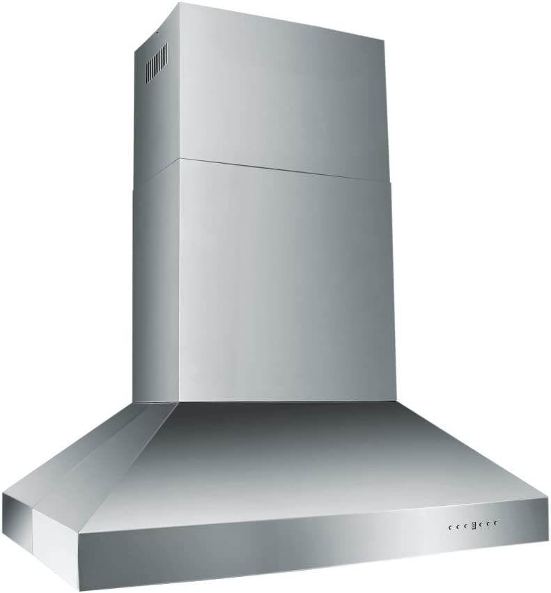 ZLINE 54 in. Professional Wall Mount Range Hood in Stainless Steel (697-54)