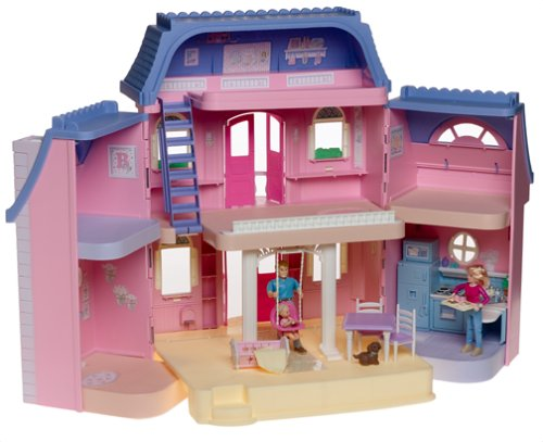 Amazon.com: Fisher Price LOVING FAMILY Classic Dollhouse: Toys & Games