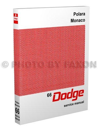 1966 Dodge Polara & Monaco Repair Shop Manual Reprint Monaco Clutch