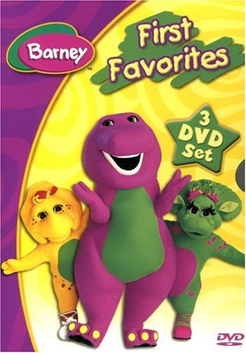 Barney - First Favorites (Musical Scrapbook / Numbers! Numbers! / Dino Dancin' - Favorite Scrapbook