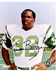 Emerson Boozer Signed Photo - 8x10 Super Bowl III Champion - PSA/DNA Certified - Autographed NFL Photos