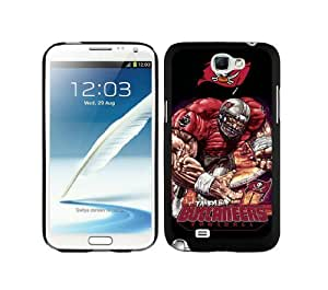 WOWCASE Tampa Bay Buccaneers NFL Rugged Case for Samsung Galaxy Note 2 Sport Fans Samsung Note 2 case-Christmas Gift