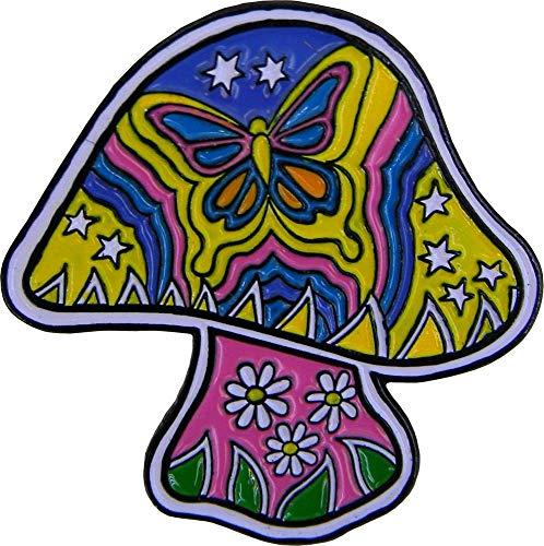 Dan Morris Mushroom Enamel Pin - 1.25