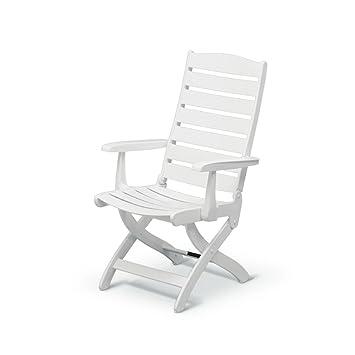 Kettler Roma Chaise à dossier haut 16-Position Chair White ...