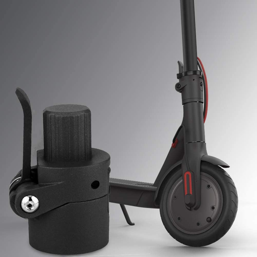 Belika Lalliage daluminium Pliant Noir de Base de Poteau Pliant est Un Accessoire de Poteau Durable et de Rechange pour Le Scooter /électrique Xiao-mi M365