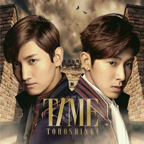 A version of the initial board] Time [CD + DVD] by Dong Bang Shin Ki TVXQ [Korean Imported] (2013)