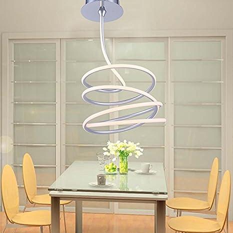 YMXJB Moderno LED techo luz colgante Lámpara de decoración ...