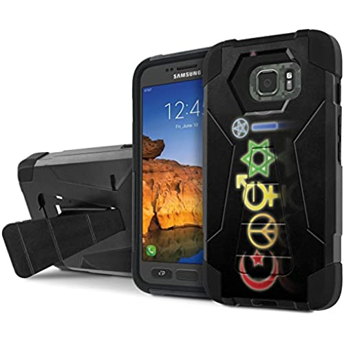 AT&T [Galaxy S7 Active] Armor Case [NakedShield] [Black/Black] Tough ShockProof [Kickstand] Phone Case - [Coexist] for Samsung Galaxy [S7 Active] Sales