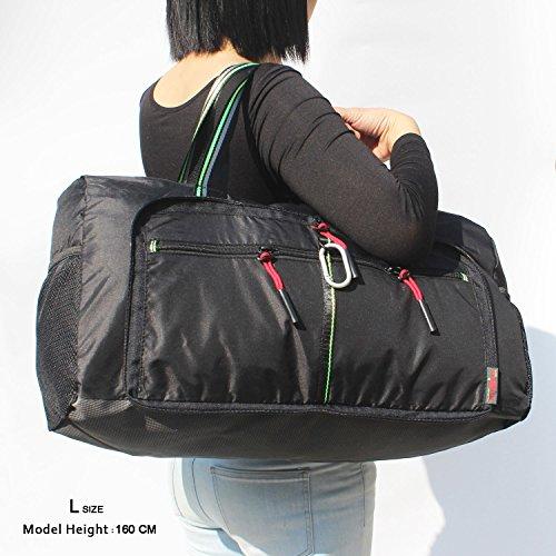 Foldable Travel Bag Duffle Bag Organizer Storage Lightweight Sports Gym Tote Bag by Alpaca Go (Image #6)