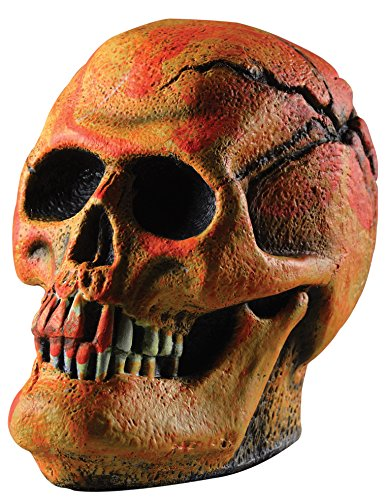Rubie's Costume Neon Orange Skull Party Props