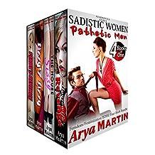 Sadistic Women, Pathetic Men: Femdom Feminization BDSM Four-Book Bundle