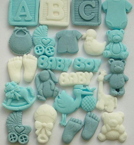 Decoración comestible para cupcakes de bebé, regalos de baby ...