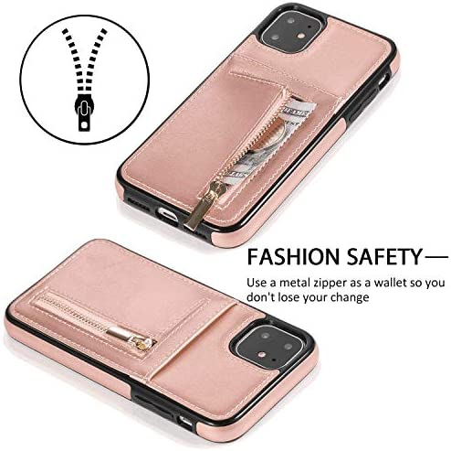 耐汚れ 耐摩擦 iPhone 11 Pro Max ケース 手帳型 本革 レザー カバー 財布型 スタンド機能 カードポケット 耐摩擦 全面保護 人気 アイフォン[無料付防水ポーチケース]