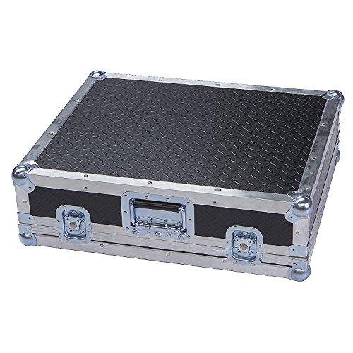 Mixers & Small Units 1/4 Ply ATA Light Duty Case with Diamond Plate Laminate Fits Mackie Cfx12 Mkii -
