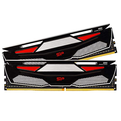 Silicon Power Gaming Series DDR4 16GB (8GBx2) 3200MHz (PC4 25600) 288-pin CL16 1.35V UDIMM Desktop Memory Module - Low Voltage