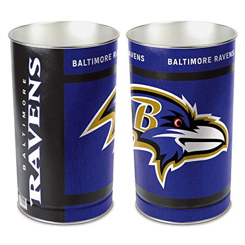 Wastebaskets Standard (NFL Baltimore Ravens Wastebasket)